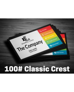 Business Card - 100# Classic Crest Cover