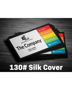 Business Card - 130# Silk Cover