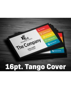 Business Card - 16pt. Tango Cover