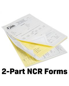 "2-Part 8 1/2"" x 11"" NCR Forms"