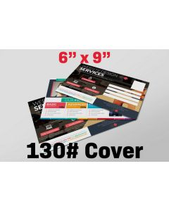 "Postcard - 6"" x 9"" - 130# Cover Stock"
