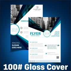 Flyers / Sell Sheets - 100# Gloss Cover