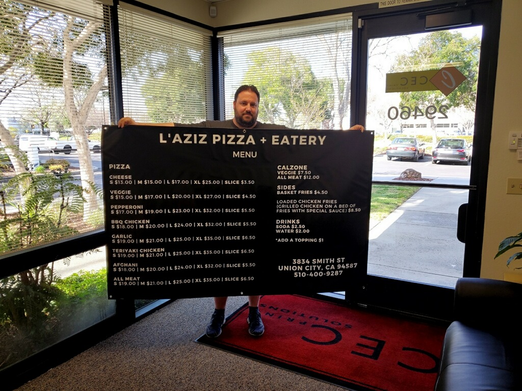 CEC Print Solutions Helps Local Pizza Business Get Back Open