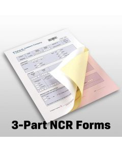 """3-Part 8 1/2"""" x 11"""" NCR Forms"""